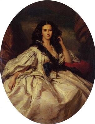 Winterhalter Franz Xavier Wienczyslawa Barczewska Madame de Jurjewicz