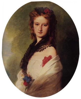 Winterhalter Franz Xavier Zofia Potocka Countess Zamoyska