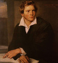 Winterhalter Franz Xavier Portrait of a Young Architect