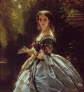 Winterhalter Franz Xavier Princess Elizabeth Esperovna Belosselsky Belosenky Princess Troubetskoi