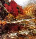 Wisinger Florian Olga A River In An Autumnal Landscape