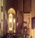 Witte de Emanuel Imaginary church Sun