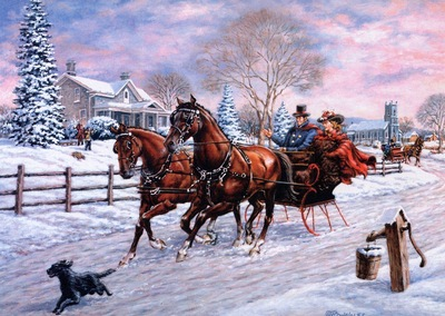 Richard De Wolfe Sleigh Ride, De