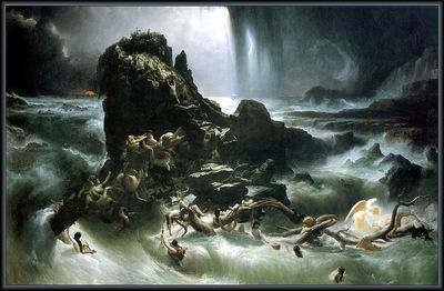 p vp Francis Danby The Deluge