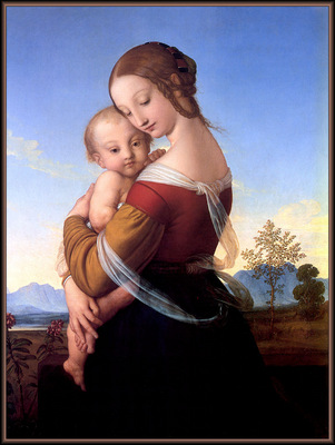 p vp William Dyce Madonna and Child