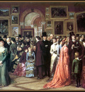 p vp William Powell Frith A Private View