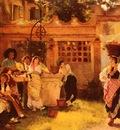 Woods Henry A Venetian Fan Seller