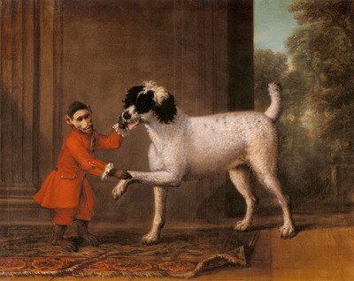 Wootton John A Favorite Poodle And Monkey Belonging To Thomas Osborne
