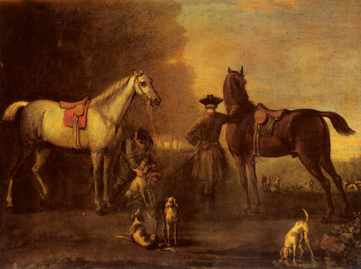 Wootton John Before The Hunt