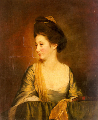 Wright Joseph Portrait Of Susannah Leigh