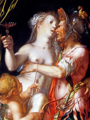 Wtewael Joachim Aphrodite Ares and Eros Sun