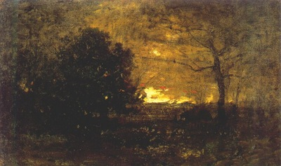 wyant evening landscape c1892