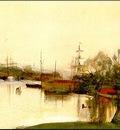 Zorn Stockholm  1881, akvarell Watercolour
