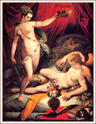bs Jacopo Zucchi Amore And Psyche