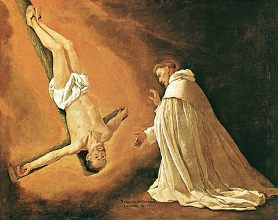 The Apparition of Apostle St Peter to St Peter of Nolasco WGA
