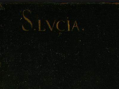 Zurbaran Saint Lucy, detlalj 6, c  1625 1630, NG Washington