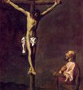Saint Luke as a Painter before Christ on the Cross WGA