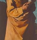 Zurbaran Apostle St Andrew, 1631, 146 7x61cm, Museum of Fine