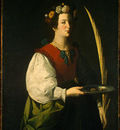 Zurbaran Saint Lucy, c  1625 1630, NG Washington