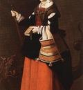 Zurbaran St Margaret, ca 1631, 194x112cm, NG London