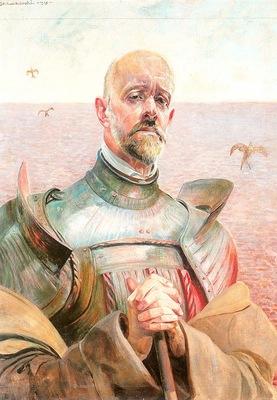 Self Portrait in Armor