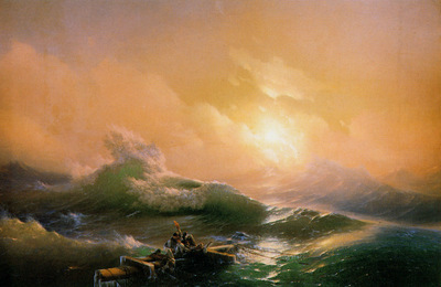 Aivazovsky Ivan The billow Sun