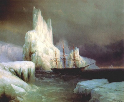 aivazovsky icebergs