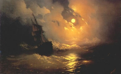 aivazovsky moonlit night