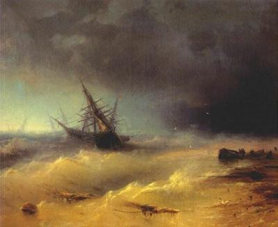 aivazovsky the storm