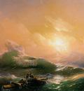 Aivazovsky Ivan The billow Sun
