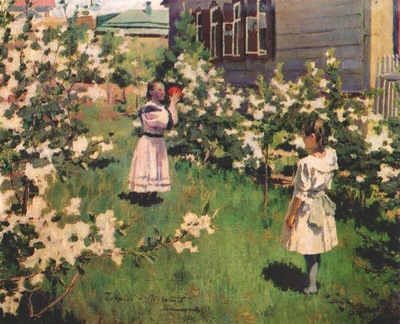 borisov musatov flowers in may
