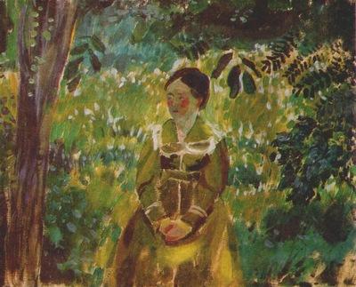 borisov musatov lady in a garden 1903
