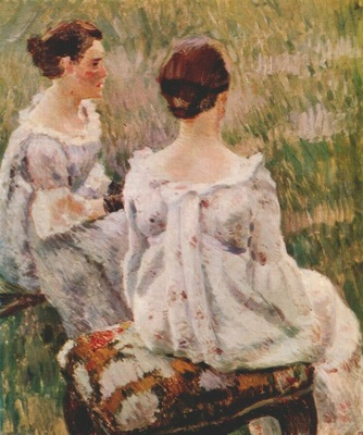 borisov musatov two ladies study for harmony 1899