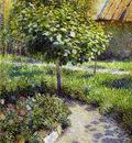 Borisov Musatov Victor Small Tree Sun