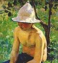 borisov musatov boy in garden