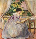 borisov musatov lady embroidering