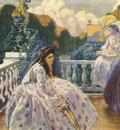 borisov musatov on the terrace