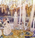 borisov musatov spring tale sketch for a panel 1904