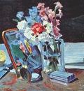 borisov musatov still life, flowers