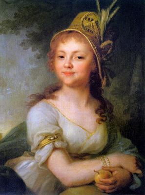 Borovikosky Vladimor Yekaterina Arsenyeva Sun