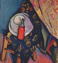 baranoff rossine bottle of wine on a chair