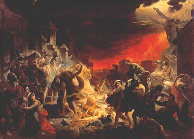 briullov the last day of pompeii 1830