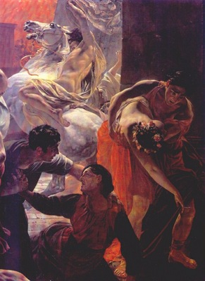 briullov the last day of pompeii detail ii