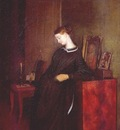 fedotov a young widow c1851