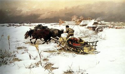 Jaroslav Vesin The Sledge Ride