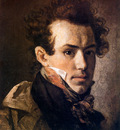 Kiprensky Orest Self portrait Sun