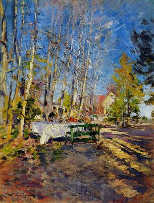 Korovin Konstantin Spring Sun