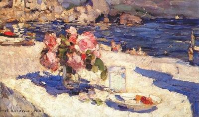 korovin on the seashore