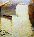 Korovin Konstantin White night in Norway Sun