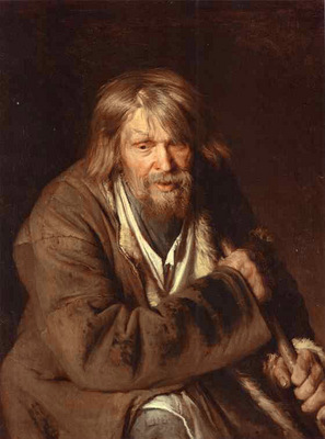 Portrait of an Old Peasant study